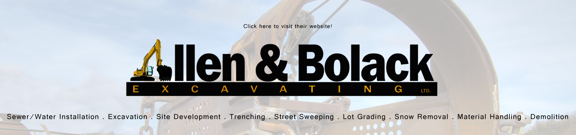 Allen & Bolack Excavating & Construction, Demolition, Development & More